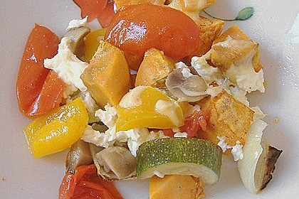 Süßkartoffel - Auflauf 15