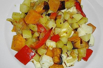 Süßkartoffel - Auflauf 24