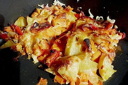 Süßkartoffel - Auflauf 35