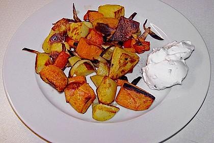 Süßkartoffel - Auflauf 10