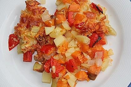 Süßkartoffel - Auflauf 22