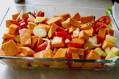 Süßkartoffel - Auflauf 37