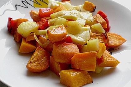 Süßkartoffel - Auflauf 4
