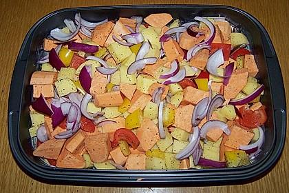 Süßkartoffel - Auflauf 38