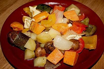Süßkartoffel - Auflauf 8