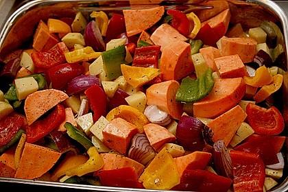 Süßkartoffel - Auflauf 11