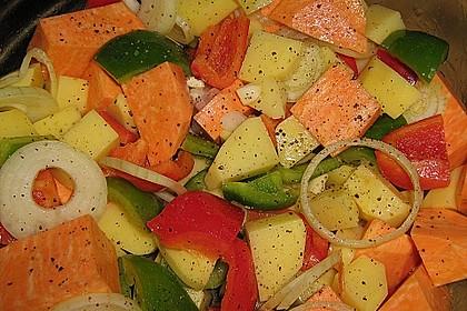 Süßkartoffel - Auflauf 20