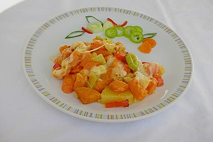 Süßkartoffel - Auflauf 5