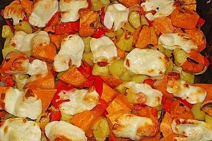 Süßkartoffel - Auflauf 16