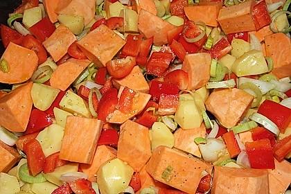 Süßkartoffel - Auflauf 25