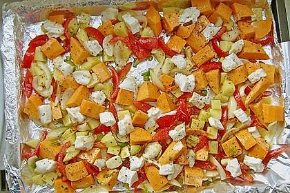 Süßkartoffel - Auflauf 36