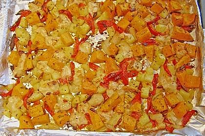 Süßkartoffel - Auflauf 48