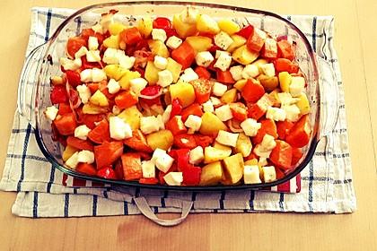 Süßkartoffel - Auflauf 1