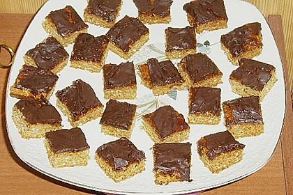 Schokoblechkuchen mit Zimt (ohne Butter, ohne Eier) 43