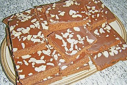 Schokoblechkuchen mit Zimt (ohne Butter, ohne Eier) 34