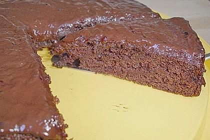 Schokoblechkuchen mit Zimt (ohne Butter, ohne Eier) 49