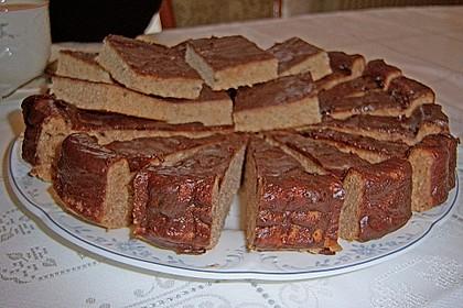 Schokoblechkuchen mit Zimt (ohne Butter, ohne Eier) 45