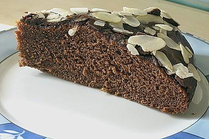Schokoblechkuchen mit Zimt (ohne Butter, ohne Eier) 1