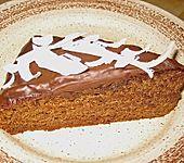 Schokoblechkuchen mit Zimt (ohne Butter, ohne Eier) (Bild)