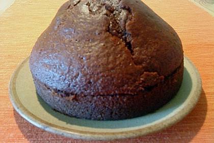 Schokoblechkuchen mit Zimt (ohne Butter, ohne Eier) 70