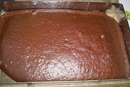 Schokoblechkuchen mit Zimt (ohne Butter, ohne Eier) 77