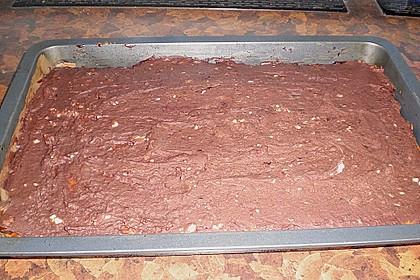 Schokoblechkuchen mit Zimt (ohne Butter, ohne Eier) 59