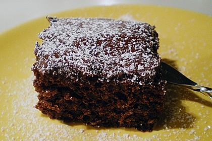 Schokoblechkuchen mit Zimt (ohne Butter, ohne Eier) 9