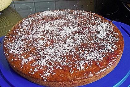 Schokoblechkuchen mit Zimt (ohne Butter, ohne Eier) 54