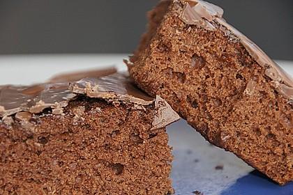Schokoblechkuchen mit Zimt (ohne Butter, ohne Eier) 20