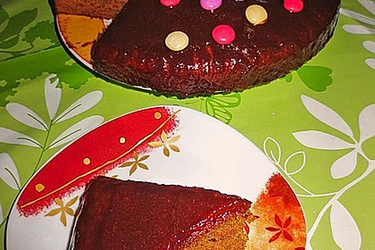 Schokoblechkuchen mit Zimt (ohne Butter, ohne Eier) 13