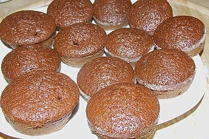 Schokoblechkuchen mit Zimt (ohne Butter, ohne Eier) 38