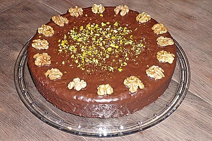 Schoko - Nuss - Kuchen ohne Mehl 11