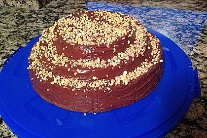 Schoko - Nuss - Kuchen ohne Mehl 24