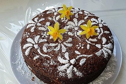 Schoko - Nuss - Kuchen ohne Mehl 4