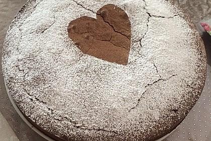 Schoko - Nuss - Kuchen ohne Mehl 42
