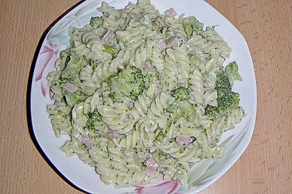 Brokkoli - Schinken - Nudeln 9