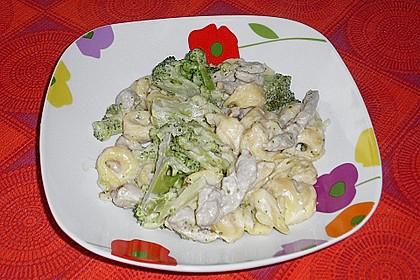 Brokkoli - Schinken - Nudeln 3