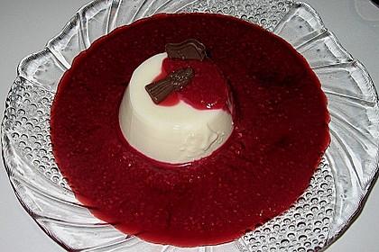 Panna Cotta mit weißer Schokolade 0