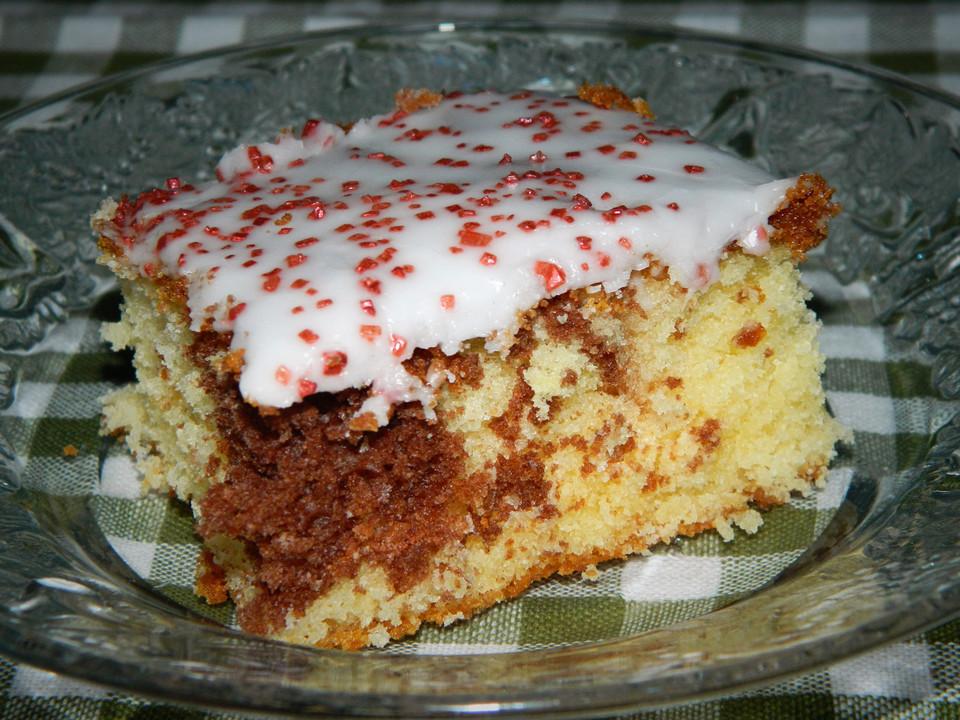 Kuchen besonders saftig