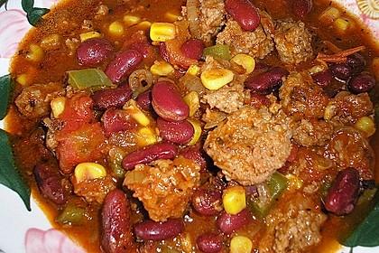 Chili con Carne, feurig scharf 10
