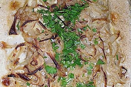 Zwiebel-Sahne Hähnchen 15