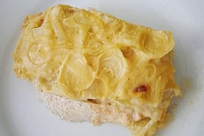 Zwiebel-Sahne Hähnchen 33