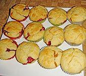 Gefüllte Marmeladenmuffins (Bild)