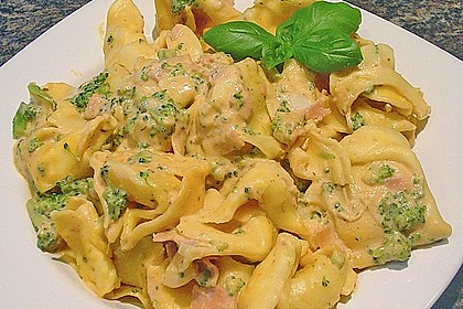Sahne - Broccoli - Nudeln 2