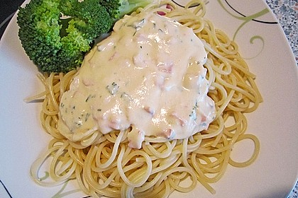 Sahne - Broccoli - Nudeln 28