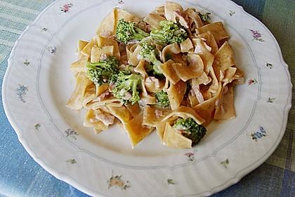 Sahne - Broccoli - Nudeln 9