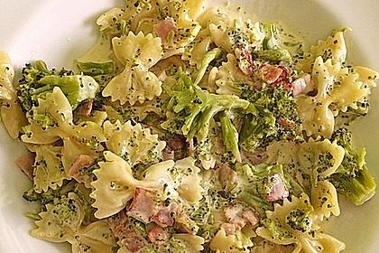 Sahne - Broccoli - Nudeln 5