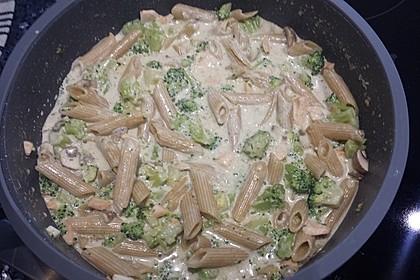 Sahne - Broccoli - Nudeln 35