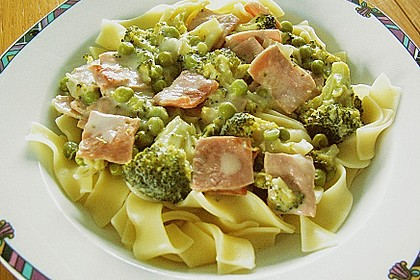 Sahne - Broccoli - Nudeln 3