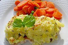 Putenschnitzel in Kartoffelkruste